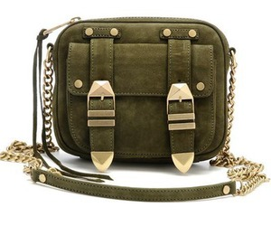 bag, olive, and purse image