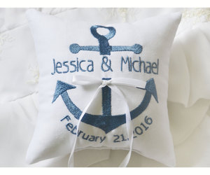 etsy, wedding ring pillow, and bridal shower gift image