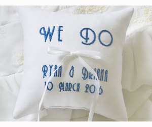 etsy, bridal shower gift, and personalized pillow image