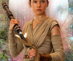 star wars, the force awakens, and episode vii image