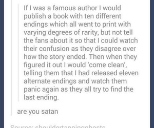 author, book, and tumblr image