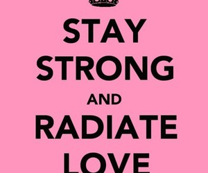 stay strong, radiate love, and miley cyrus image