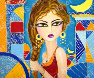 art, baghdad, and draw image