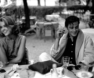 Alain Delon, couple, and jane fonda image