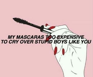 mascara, boy, and quotes image