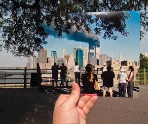 twin towers, city, and new york image