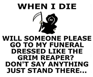 funny and grim reaper image