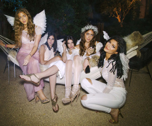 kylie jenner, kendall jenner, and angel image