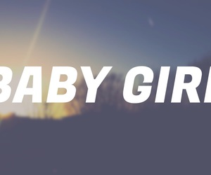 baby, calm, and girl image