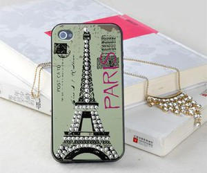 cool, phone, and eiffel image