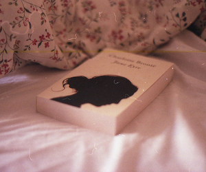 book, vintage, and jane eyre image