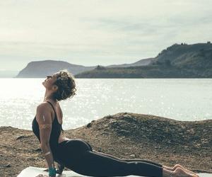 fitness, yoga, and motivation image