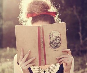 books, libros, and vintage image