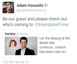 beauty and the beast, gaston, and ️ouat image