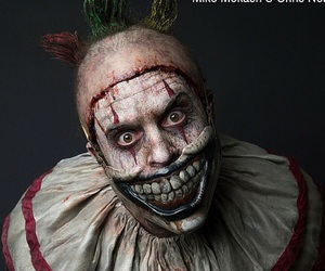 clown, creepy, and american horror story image