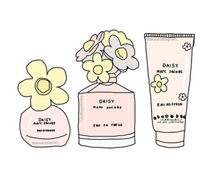 perfume, cute, and daisy image
