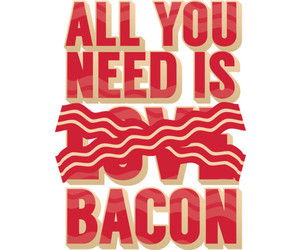anti, bacon, and funny image