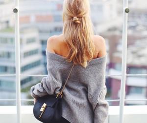 fashion, hair, and bag image