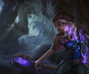 lux, league of legends, and lol image