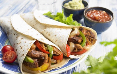 food, mexican, and tortilla image