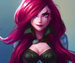 Katarina and league of legends image