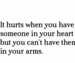 love, hurt, and heart image