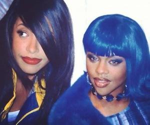 aaliyah and Lil Kim image