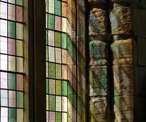 stained glass, window, and windows image