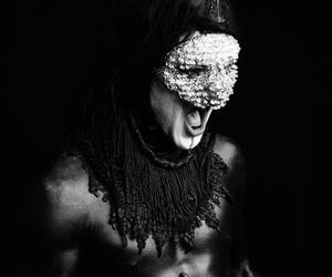 art, mask, and limp bizkit image