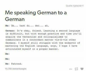 german, funny, and language image
