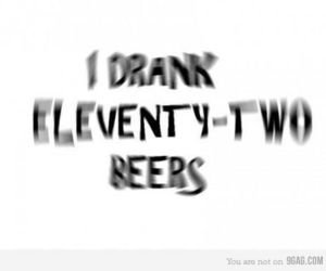 beer, drunk, and funny image