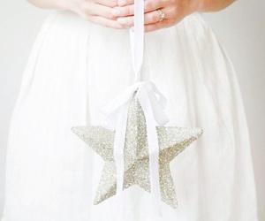 stars, christmas, and white image
