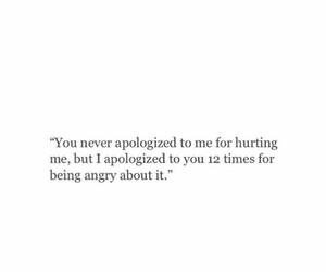 feelings, quote, and sorry image
