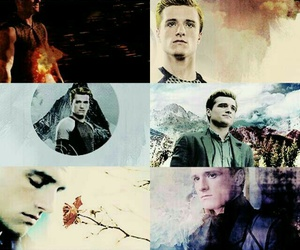 peeta mellark, the hunger games, and catching fire image