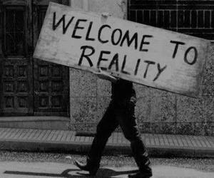 black, grunge, and sadness image
