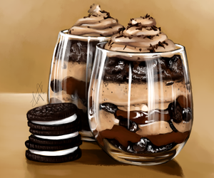 chocolate, dessert, and food image