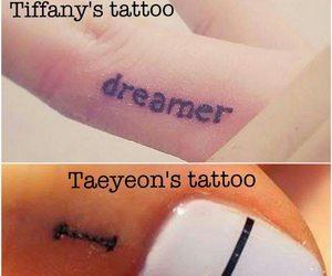 love couple, snsd, and tiffany hwang image