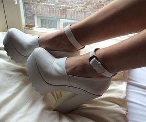 grunge, heels, and high heels image