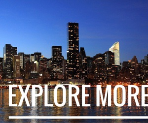city, explore, and font image