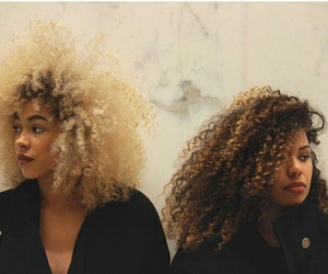 big hair, curly hair, and natrual hair image