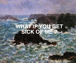 quotes, art, and sick image