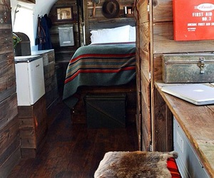 Camper, rustic, and woodwork image