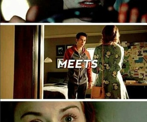 stydia, lydia, and teen wolf image