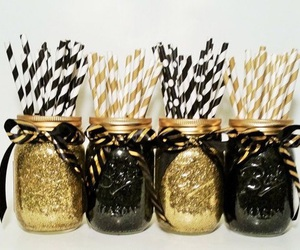 decorating, glitter, and party image