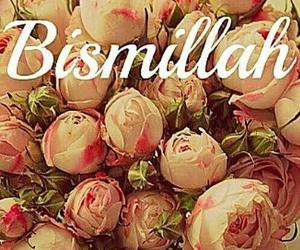 islam, muslim, and bismillah image