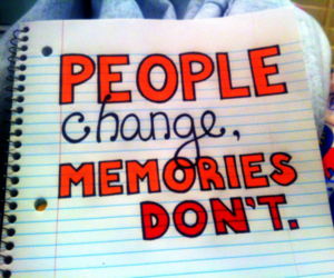 change, memories, and people image