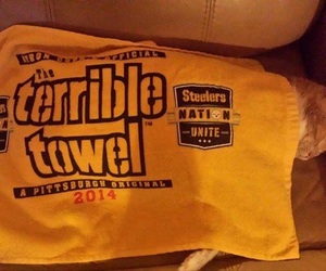 black and gold, football, and steelers nation image