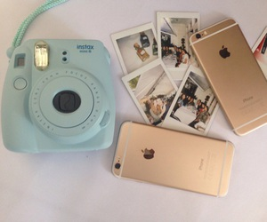 iphone, photo, and polaroid image
