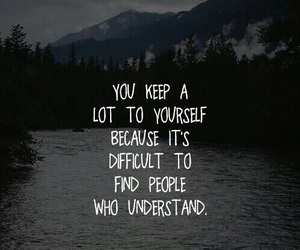 quotes, sad, and people image