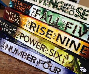 books, series, and i am number four image